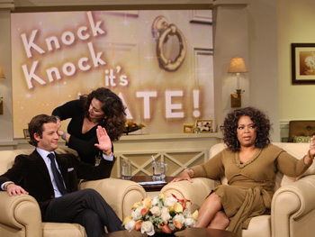 Nate Berkus and Oprah