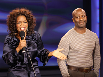 Oprah and BeBe Winans