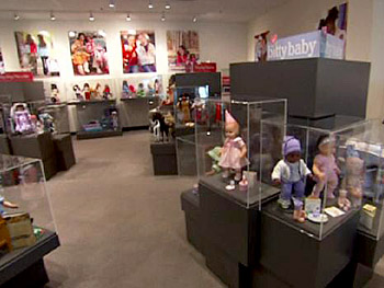 Inside American Girl headquarters