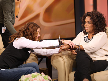 Julia Roberts and Oprah
