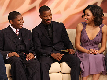 Denzel Whitaker, Nate Parker and Jurnee Smollett