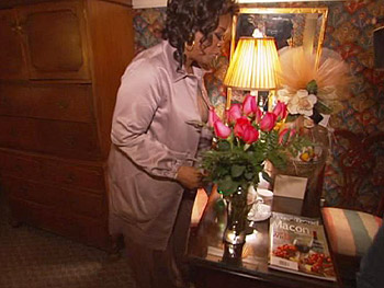 Oprah's room at the 1842 Inn