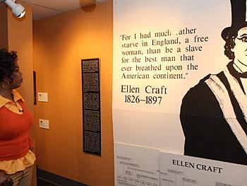 Oprah visits Macon's Tubman African-American Museum.
