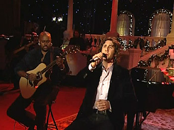 Josh Groban performs 'Little Drummer Boy.'