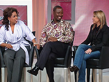 Oprah, Ted Gibson and Rita Hazan
