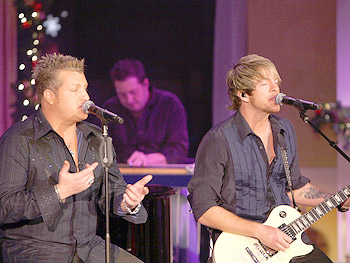Rascal Flatts sings 'She Goes All the Way.'