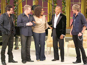 Rascal Flatts, Oprah and Jamie Foxx