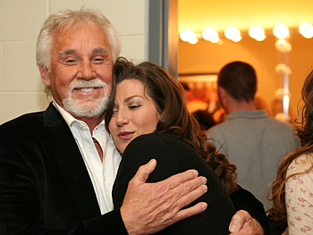 Kenny Rogers and Amy Grant