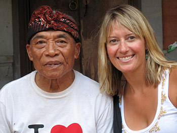Kristin journeyed to Bali to meet Ketut.
