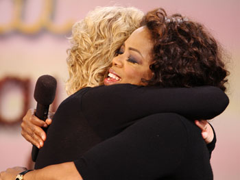 Elizabeth Gilbert and Oprah