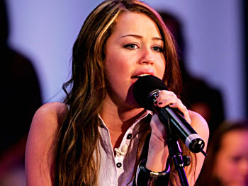 Miley Cyrus sings 'I Miss You.'