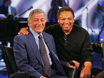 Tony Bennett and Reggie Wells