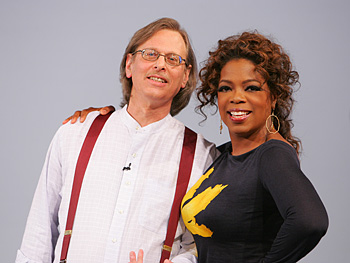 Jonathan Wolken and Oprah