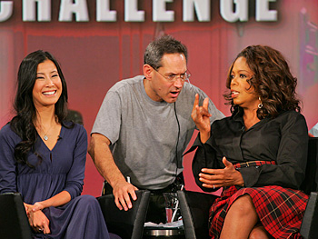 Lisa Ling, Dean and Oprah