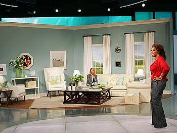 Victoria Hagan and Oprah