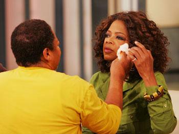Reggie Wells and Oprah