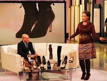 Oprah and Cole Haan creative director Gordon Thompson