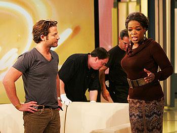Nate Berkus and Oprah