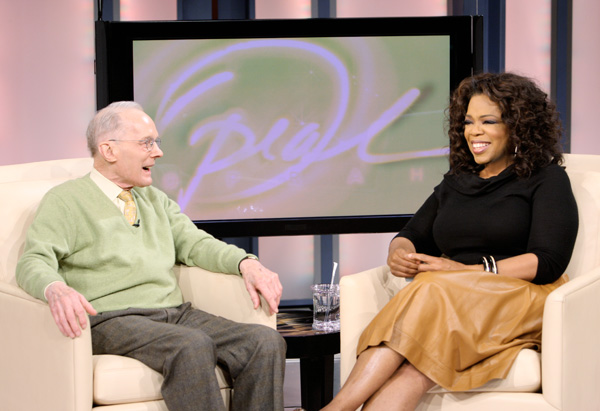 Chuck Williams and Oprah