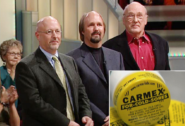 The Woelbing family, creators of Carmex
