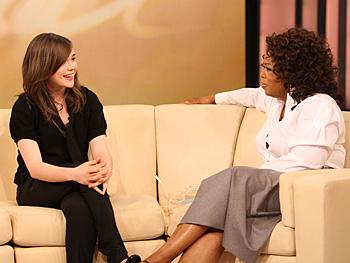 Ellen Page and Oprah