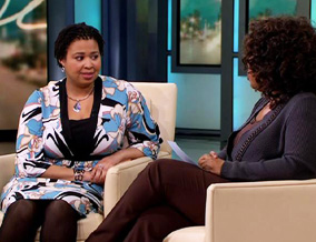 Nicole and Oprah