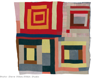 Housetop variation quilt by Mary L. Bennett