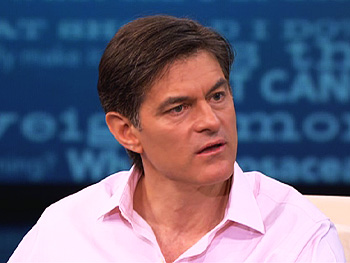 Dr. Oz shows how nicotine affects the brain.