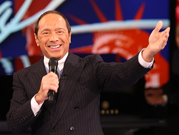 Paul Anka sings 'My Way.'