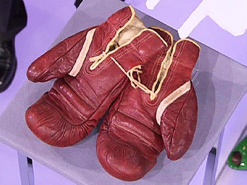 Joe Louis's boxing gloves