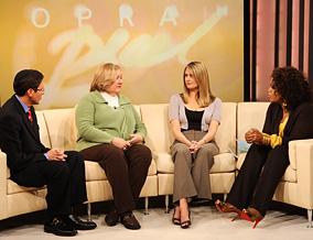Gary, Rosemarie, Melissa and Oprah