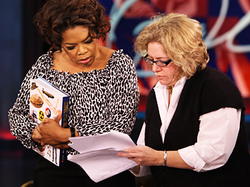 Oprah and Julie