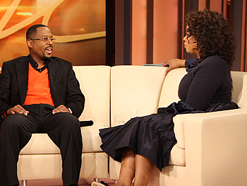 Martin Lawrence and Oprah