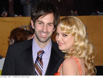 Katherine Heigl with her husband, Josh Kelley