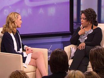 Katherine Heigl and Oprah