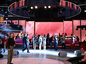 Bette Midler's dancers and band