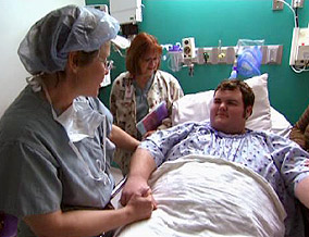 Dr. Brandt performed Nathaniel's gastric bypass surgery.