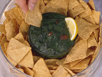 Get your omega-3s in this guacamole.