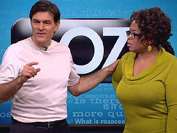 Dr. Oz  says more sex can reduce your real age.