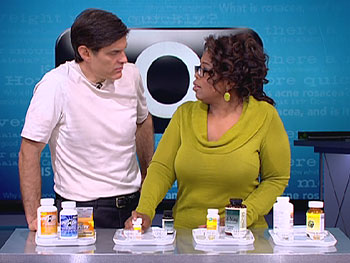Dr. Oz explains the importance of calcium, magnesium, DHA omega-3 and baby aspirin.