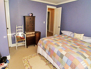 Kari and Dave's master bedroom, before