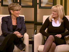 Suze Orman and Sylvia