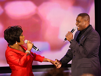 Patti LaBelle sings 'If Only You Knew' with Win.