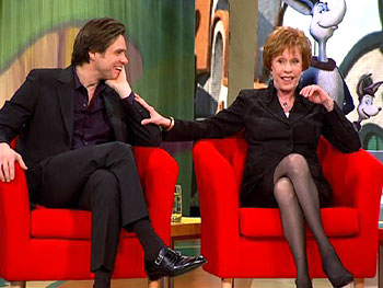 Jim Carrey and Carol Burnett