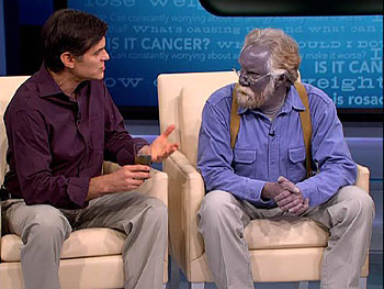 Dr. Oz explains how silver turned Paul blue.