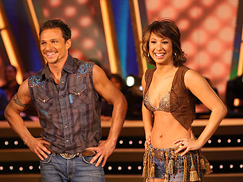 Drew Lachey and Cheryl Burke