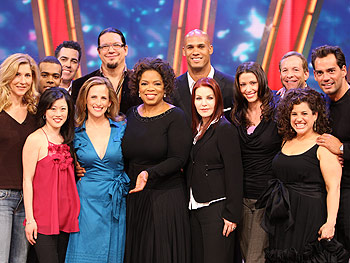 The season six cast of Dancing with the Stars