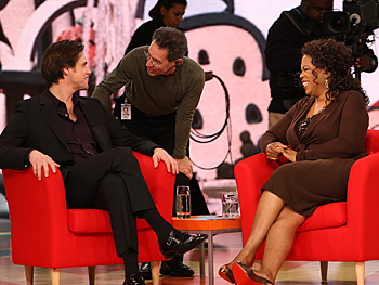 Jim Carrey, Dean and Oprah