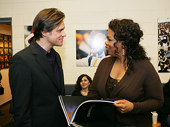 Jim Carrey and Oprah