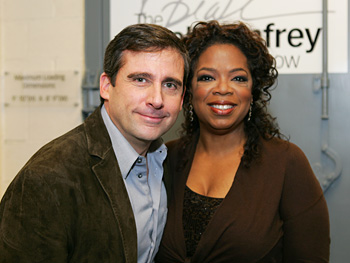 Steve Carell and Oprah